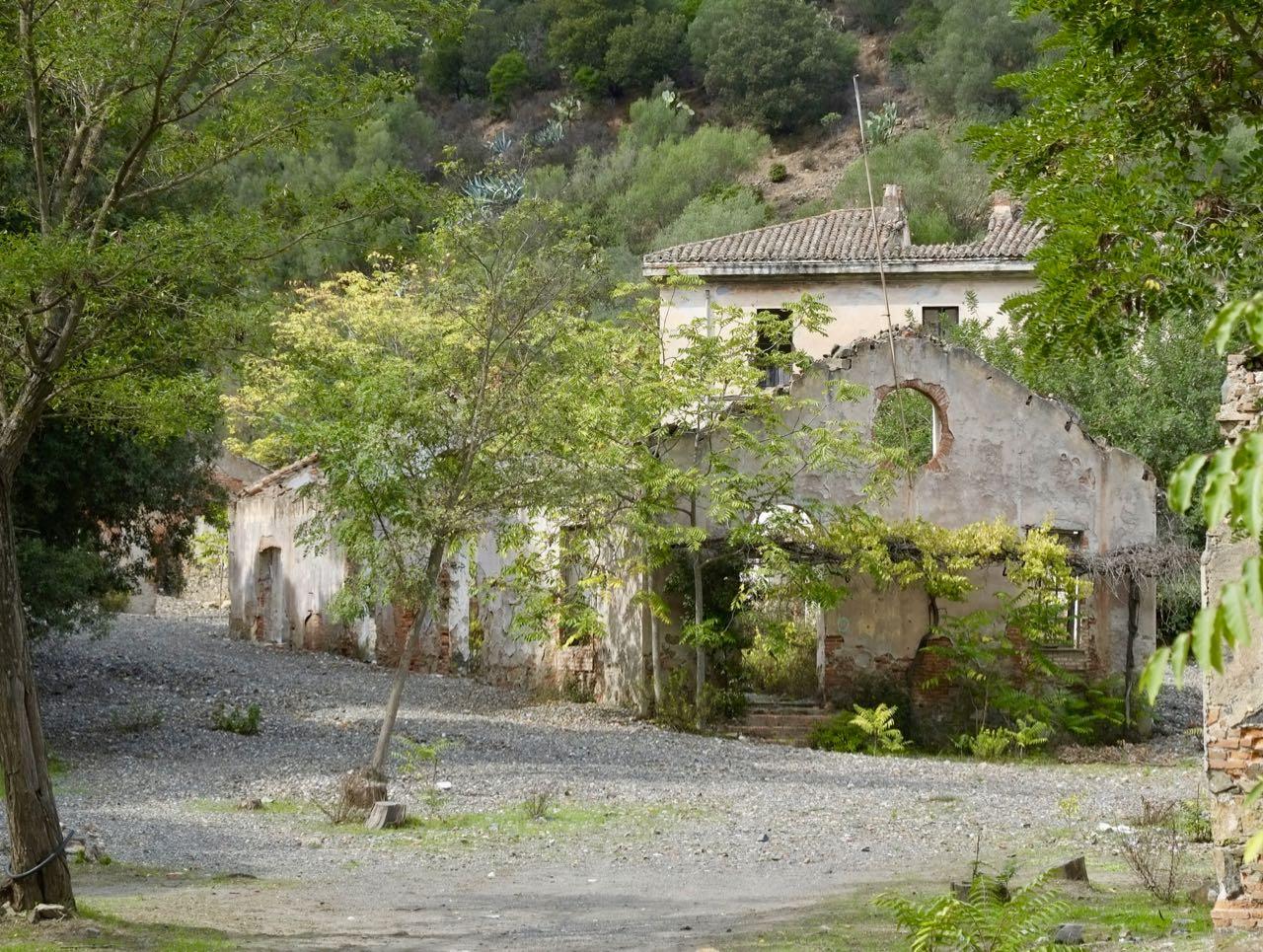 Mijnen Monte Narba Sardinië